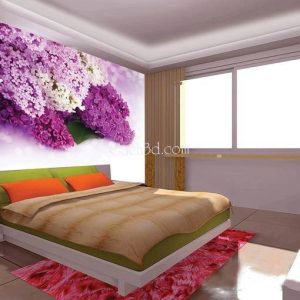 gạch 3d loài hoa