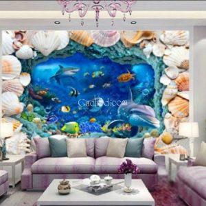 gạch 3d đại dương đẹp