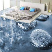gạch 3d lát cho phòng ngủ