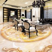 gạch 3d lát sàn phòng khách đẹp nhất