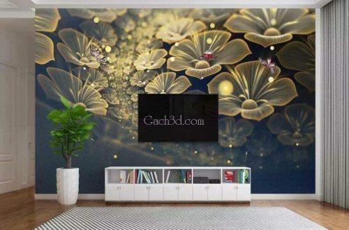 gạch tranh 3d hoa trang sức