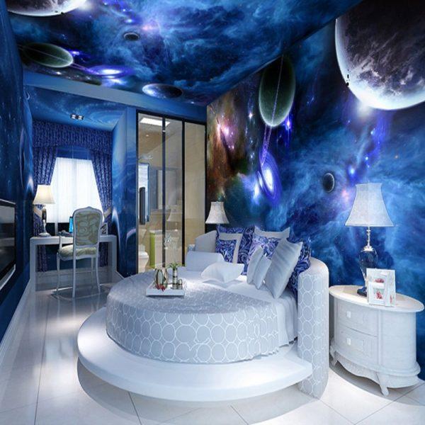 trần xuyên sáng 3d ngân hà