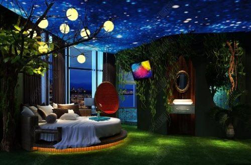 CÁ TÍNH – KHÁC BIỆT với Trần 3d phòng ngủ siêu HIỆN ĐẠI
