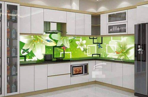 Chọn gạch ốp 3d nhà bếp cao cấp cho tín đồ của phong cách hiện đại